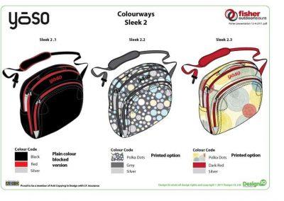 Fisher Outdoor Leisure Yoso Bag Design