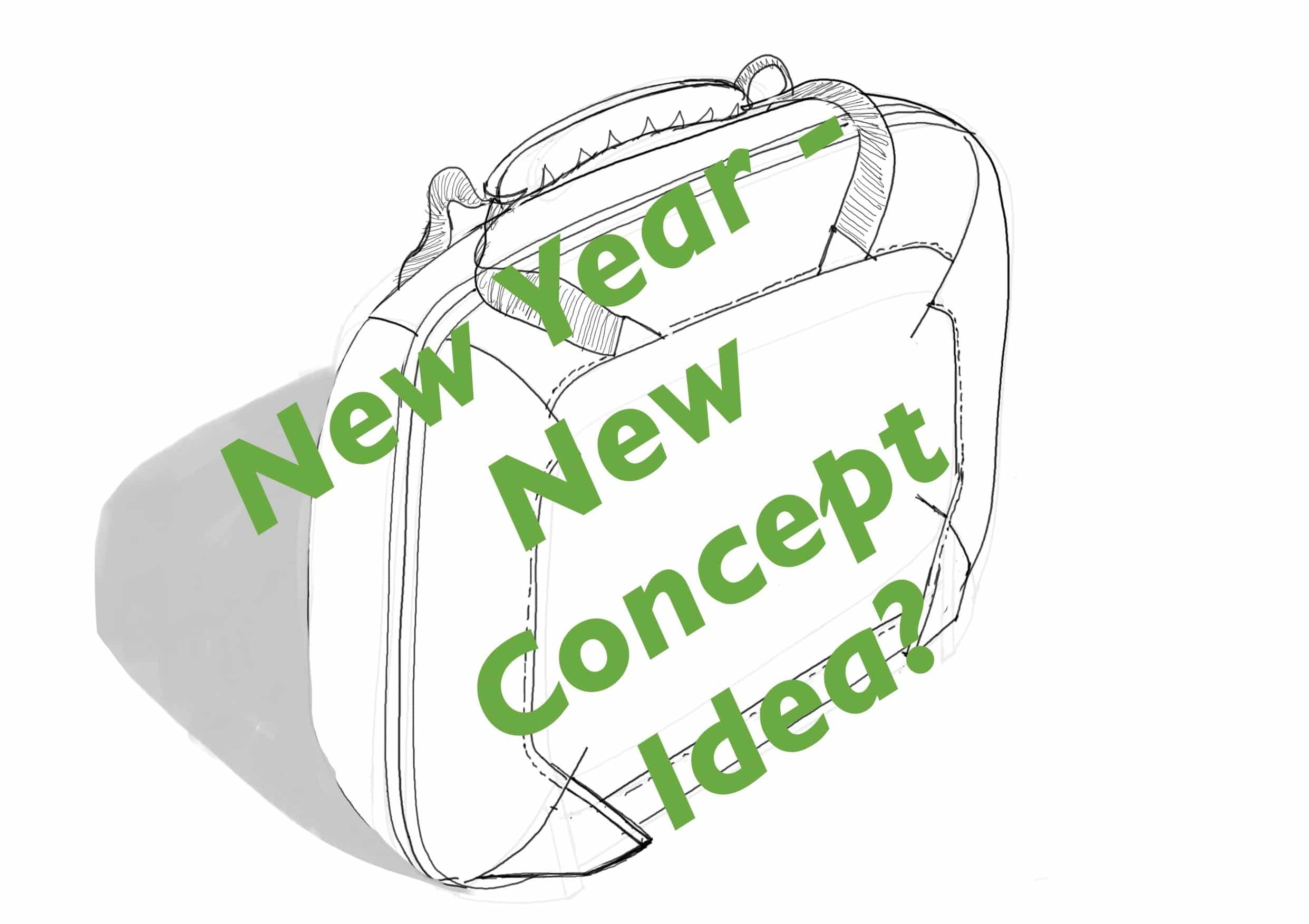 New Year New Bag Concept Design Idea ( and don't say the B word!)