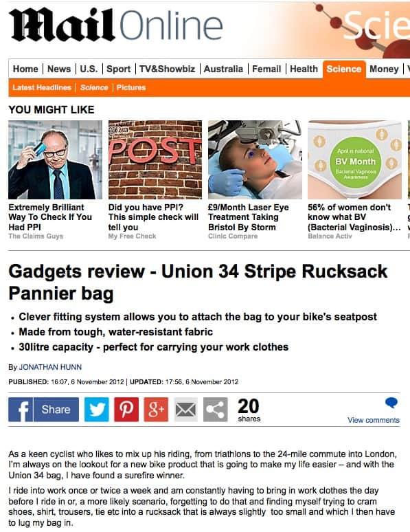 Union-34-Rucksack-review-in-the Daily-Mail