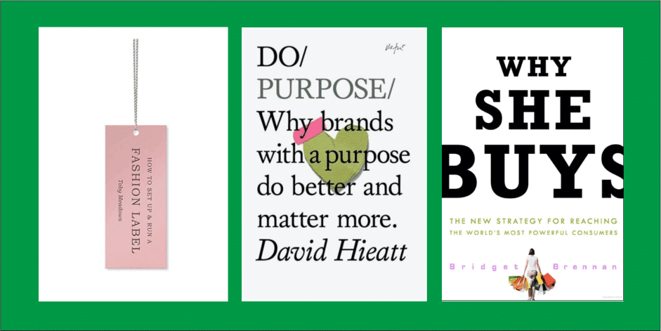 How to build your own bag brand? Here are books we recommend.